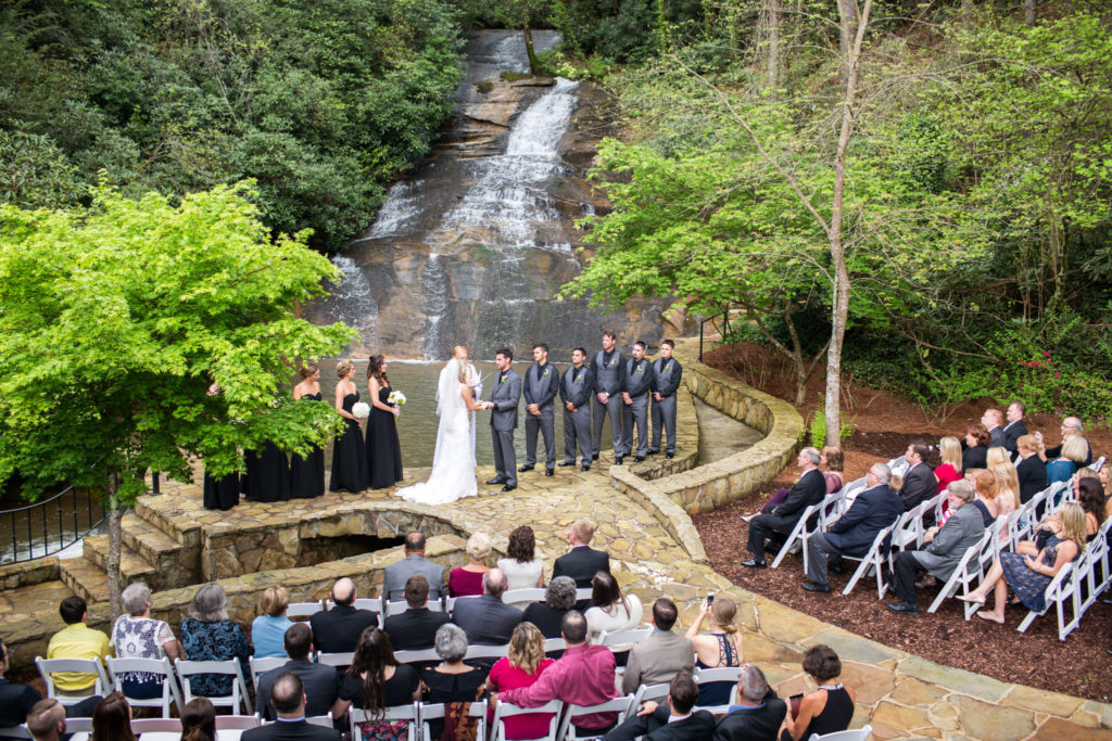 Outdoor Weddings Reception Venue In North Georgia Mountains
